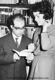 Дамян Дамянов със съпругата си Надежда