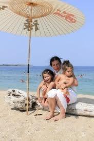 Дъщерята Станка с дъщерите си