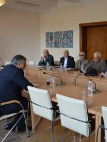 Срещата на министър Калфин с пенсионерските лидери