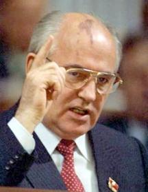 Бащата на перестройката Михаил Горбачов се съобразил с идеите на поповския пенсионер