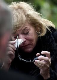 Керъл разплакана на погребението на Маргарет Тачър