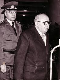 Тодор Живков по време на сдебните процеси срещу него