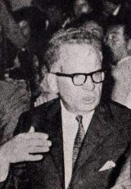 Българският дипломат д-р Петър Вутов получил нотата на Държавния департамент за прекъсване на отношенията между НРБ и САЩ през февруари 1950 г.