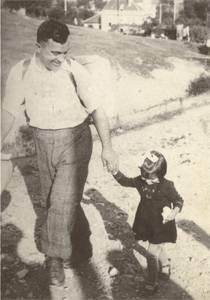 Иван Хаджийски с дъщеря си