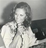 Снимка от гостуването на актрисата в Петрич