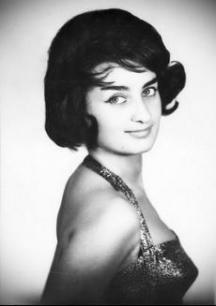 Певицата Мими Иванова в началото на кариерата си