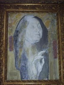 Образът на Ванга често бил изписван от четката на Светлин Русев