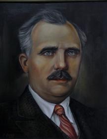 Живописен портрет на белетриста.