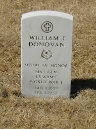 Надгробната плоча на полковник Донован