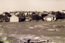 Част от залетите къщи