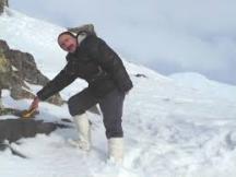 Ученият сред ледовете на Антарктида