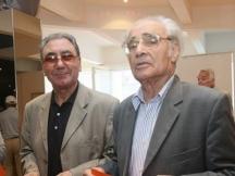 Романистът заедно с бившия министър на културата Георги Йорданов