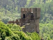 Балдуиновата кула в Търново, където според преданието бил затворен белгийският предводител на рицарите