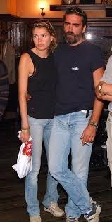 Ернестина със съпруга си Андрей Слабаков
