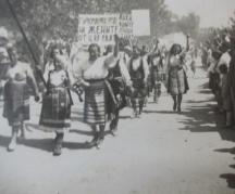 Манифестират жените в село Мокреш