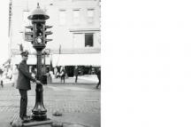 Първият електрически светофар в Охайо