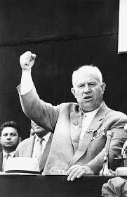 Колоритният съветски лидер Никита Хрушчов