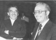 Габриел Гарсия Маркес и Никола Инджов. Мексико, 1980 г.