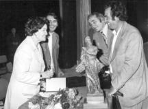 Багряна във Враца на празника на поезията, 1976 г.