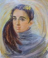 Автопортрет на художничката