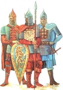 Войници на Киевска Рус