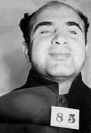 Полицейска фотография на Капоне