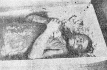 Сръбските бандити зверски обезобразили българите.