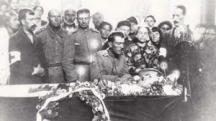 Погребението на полковник Димитър Чолаков