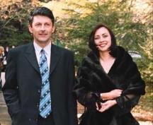 Пепи със съпругата си Зоя