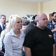 Иванка Костадинова, началник на изгорелия влак, Георги Георгиев, шафнер на кушет-вагона.