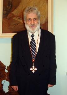 Д-р Берон е кавалер на ордена