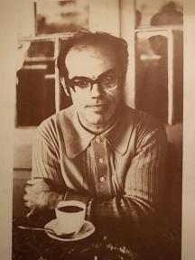 Поетът пред чашата с неизменното кафе