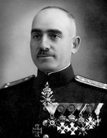 Димков като полковник от Българската армия