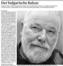 Преди 4-5 години немската критика нарече Владимир Зарев