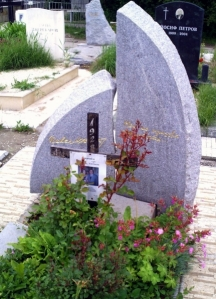 Гробът на Матев в Софийските централни гробища
