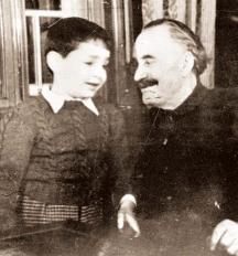 Димитров с осиновения си син Бойко