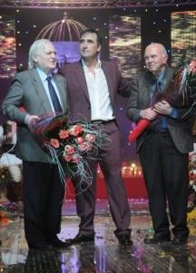 Голямото творческо трио – Тончо Русев, Веселин Маринов и Евтим Евтимов