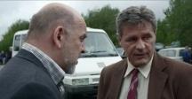 Ивайло Герасков (вдясно) също се мярка за броени секунди във филма