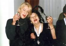 Голямата актриса Стоянка Мутафова с дъщеря си Мария (Муки)