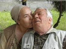 Със съпругата Валя