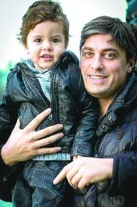 С племеника си Калоян