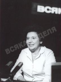 Ани Спанчева в студиото на