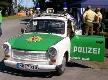 И полицаите в Германия се возеха на култовия автомобил едно време.