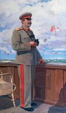 Главнокомандващият генералисимус Йосиф Сталин
