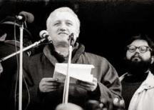 Симеонов говори на първите митинги след 10 ноември 1989 г.