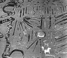 Шперцове и инструменти за обир на известния апаш