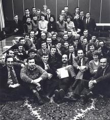 Уникална снимка от 1983 г. Международните кореспонденти на вестник
