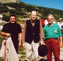 На Рила със Симеон II, бившия министър Васил Иванов-Лучано