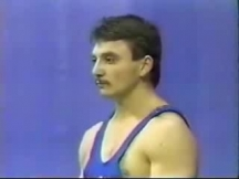 Ангел Генчев преди години като състезател...
