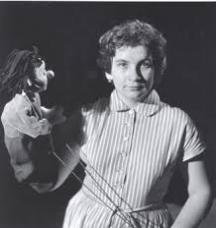Актрисата в началото на кариерата си
